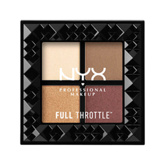 Для глаз NYX Professional Makeup Full Throttle Shadow Palette 01 (Цвет 01 Daring Damsel variant_hex_name CA7F71) damsel in distress