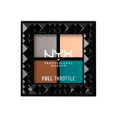 Тени для век NYX Professional Makeup Full Throttle Shadow Palette 06 (Цвет 06 Stunner variant_hex_name 1FB0C7)