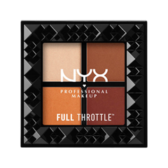 Для глаз NYX Professional Makeup Full Throttle Shadow Palette 08 (Цвет 08 Color Riot variant_hex_name EC9878) магнитный браслет colantotte magtitan color palette