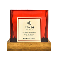 Ароматическая свеча Atmos Ceylon Bergamot (Объем 200 г)
