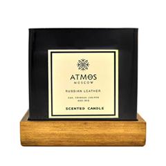 Ароматическая свеча Atmos Russian Leather (Объем 200 г)