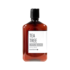 Борода и усы Beardbrand Шампунь для бороды Tea Tree Beard Wash (Объем 250 мл)