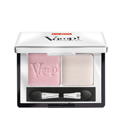 Тени для век Pupa Vamp! Compact Duo Eyeshadow 001 (Цвет 001 Rose Perlage variant_hex_name F3C9CD Вес 50.00)