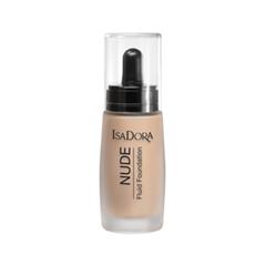 Тональная основа IsaDora Nude Super Fluid Foundation 12 (Цвет 12 Nude Sand variant_hex_name EFC4A1)