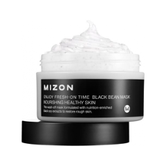 Маска Mizon Enjoy Fresh On-Time Black Bean Mask (Объем 100 мл)