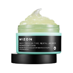 Маска Mizon Enjoy Fresh On-Time Revital Lime Mask (Объем 100 мл)