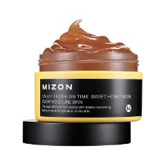 Маска Mizon Enjoy Fresh On-Time Sweet Honey Mask (Объем 100 мл) крем для рук mizon enjoy fresh on time sweet honey hand cream объем 50 мл