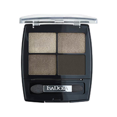 Тени для век IsaDora Eye Shadow Quartet 03 (Цвет 03 Urban Green variant_hex_name A19388) isadora для век eye shadow quartet 44 5 г