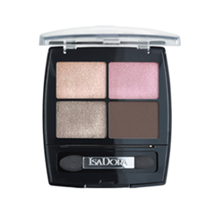 Тени для век IsaDora Eye Shadow Quartet 05 (Цвет 05 Nude Rose variant_hex_name DCAFC3) isadora для век eye shadow quartet 44 5 г