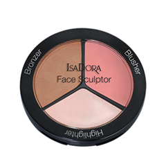 ���� IsaDora ������������������� �������� ��� ������� ���� Face Sculptor 02 (���� 02 Cool Pink)