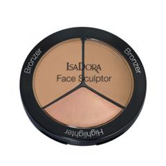 Лицо IsaDora Многофункциональное средство для макияжа лица Face Sculptor 11 (Цвет 11 Natural Bronze (Limited Edition) variant_hex_name BF9473)