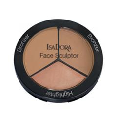 Лицо IsaDora Многофункциональное средство для макияжа лица Face Sculptor 12 (Цвет 12 Medium Bronze (Limited Edition) variant_hex_name B78C6B)
