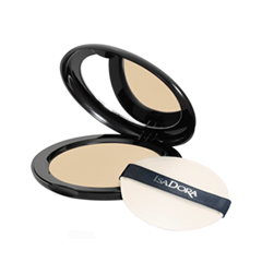 Пудра IsaDora Velvet Touch Compact Powder 10 (Цвет 10 Sheer Transparent variant_hex_name E2D1B7)