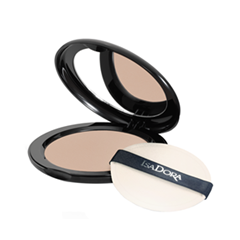 Пудра IsaDora Velvet Touch Compact Powder 13 (Цвет 13 Soft Nougat Mist variant_hex_name CEAD9A)