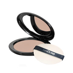 Пудра IsaDora Velvet Touch Compact Powder 15 (Цвет 15 Medium Beige Mist variant_hex_name CDA794)