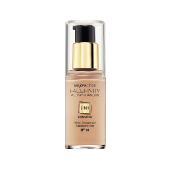 Тональная основа Max Factor Facefinity All Day Flawless (Цвет №35 Pearl Beige variant_hex_name dcb393 Вес 50.00) блеск для губ colour elixir тон 45 max factor цвет lux berry