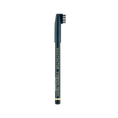 Карандаш для бровей Max Factor Eyebrow Pencil (Цвет №01 Ebony variant_hex_name 273f49 Вес 10.00) lavera eyebrow pencil 02