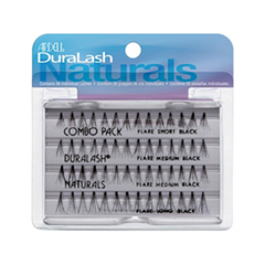 Накладные ресницы Ardell Duralash Naturals Knot-Free Flairs Combo Pack Black