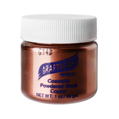 Пудра Graftobian Металлическая пудра Cosmetic Powder Metal Copper (Цвет Copper variant_hex_name 82482D)