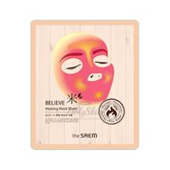 Тканевая маска The Saem Believe Me Heating Mask Sheet (Объем 17 г)