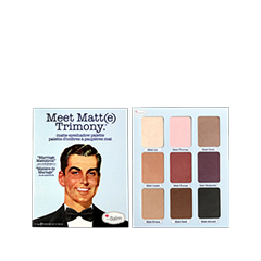 Тени для век theBalm Meet Matt(e) Trimony