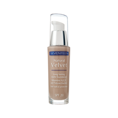 ��������� ������ Seventeen Natural Velvet Longlasting Matte Foundation 4 (���� 4 True Beige)
