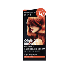 8 марта 2015 Tony Moly Make HD Hair Color Cream 8OR (Цвет 8OR Orange Brown variant_hex_name AC5939)