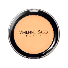Пудра Vivienne Sabo Poudre Compacte Hydratante. Joli Moyen 03 (Цвет 03 variant_hex_name ffc68f)