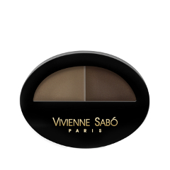 Тени для бровей Vivienne Sabo Brow Arcade 01 (Цвет 01 variant_hex_name 7c705c) тушь для ресниц vivienne sabo brow mascara brow arcade тон 02