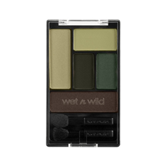 Тени для век Wet n Wild Color Icon Eye Shadow Palette Е34668 (Цвет Е34668 Girls Just Wanna Have Funds (Green) variant_hex_name A59C72)