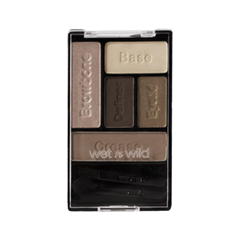 Тени для век Wet n Wild Color Icon Eye Shadow Palette E3961 (Цвет E3961 Bare and Beatiful variant_hex_name 846660)