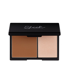 Sleek MakeUP Face Contour Kit Light (Цвет Light variant_hex_name 8c512d)
