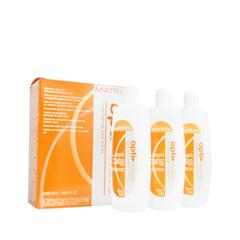 Стайлинг Matrix Набор лосьонов для завивки Opti Wave Waving Lotion Natural to Resistant Hair (Объем 3*250 мл) matrix opti wave лосьон для завивки нормальных волос 3 250 мл