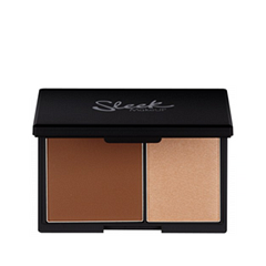 Хайлайтер Sleek MakeUP Face Contour Kit Medium (Цвет Medium variant_hex_name 7c4024) uhod za irisami page 2