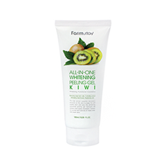 Пилинг FarmStay All-In-One Whitening Kiwi Peeling Gel (Объем 180 мл) the yeon lotus roots 365 silky skin bubble peeling gel пилинг гель с экстрактом лотоса 100 мл