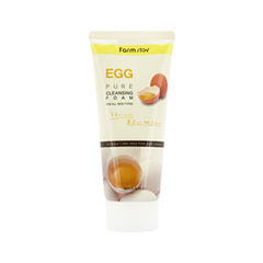 Пенка FarmStay Egg Pure Cleansing Foam (Объем 180 мл) пенка the face shop green tea phyto powder cleansing foam объем 170 мл