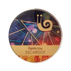 ����� FarmStay Escargot UV Two-Way Pact 13 (���� 13 Light Beige  )