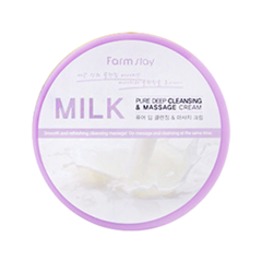 ���� FarmStay Milk Pure Deep Cleansing and Massage Cream (����� 300 �)