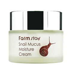 Крем FarmStay Snail Mucus Moisture Cream (Объем 50 мл) the yeon canola honey silky hand cream крем для рук с экстрактом меда канола 50 мл