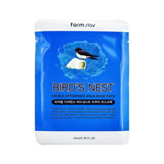 �������� ����� FarmStay Visible Diference Bird`s Nest Aqua Mask Pack (����� 23 ��)
