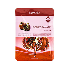 Тканевая маска FarmStay Visible Diference Pomegranate Mask Sheet Pack (Объем 23 мл) missha pure source sheet mask pomegranate объем 21 г