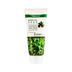Крем для рук FarmStay Visible Difference Green Tea Seed Hand Cream (Объем 100 мл)