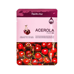 Тканевая маска FarmStay Visible Difference Mask Sheet Acerola (Объем 23 мл)