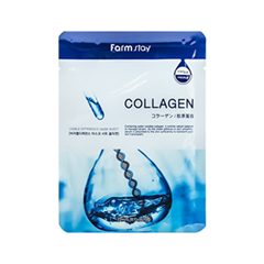 �������� ����� FarmStay Visible Difference Mask Sheet Collagen (����� 23 ��)