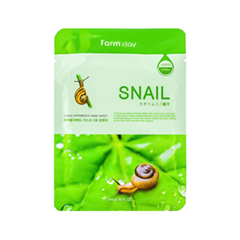 Тканевая маска FarmStay Visible Difference Mask Sheet Snail (Объем 23 мл) skin79 ultra light mask sheet объем 23 мл
