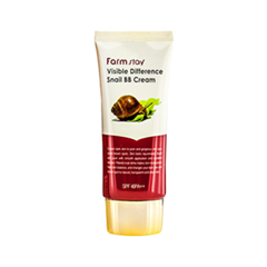 BB крем FarmStay Visible Difference Snail BB Cream SPF40 PA++ (Объем 50 мл) bb крем the face shop photo blur bb cream spf37 pa объем 40 мл