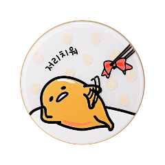 Кушон Holika Holika Gudetama LazyEasy Face 2 Change Photo Ready Cushion BB Set A 21 (Цвет 21 variant_hex_name f0c1a3)