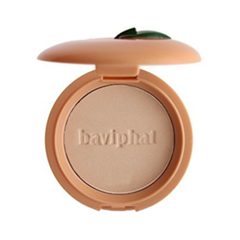 Пудра Baviphat Sugar Girl Peach Sebum Solution Pact 02 (Цвет 02 Natural Beige variant_hex_name D3B198) пудра на минеральной основе innisfree no sebum mineral pact
