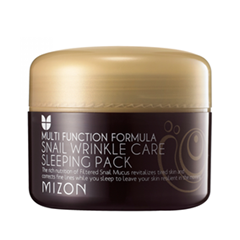 Ночная маска Mizon Snail Wrinkle Care Sleeping Pack (Объем 80 мл) mizon peptide 500 30ml skin care essence serum face cream whitening moisturizing anti wrinkle facial cream korean cosmetics