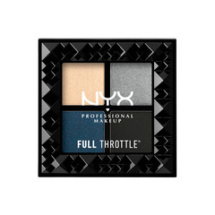 Для глаз NYX Professional Makeup Full Throttle Shadow Palette 03 (Цвет 03 Haywire variant_hex_name C2C6C5) тени nyx professional makeup палетка теней perfect filter shadow palette olive you 03